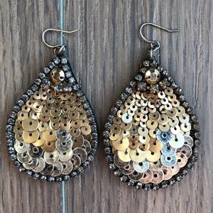 Unknown designer sequin Earrings